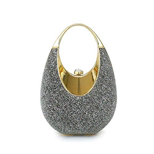 Borsa A Tracolla Da Donna Macchia Mini Sacchetto Del Telefono Mobile Gioiello Gray