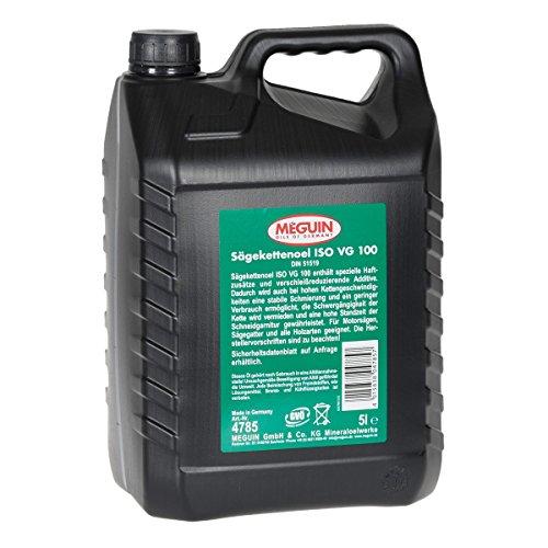 Preisvergleich Produktbild 5 Liter Kanister Meguin Sägeketten Haftöl, Kettenhaftöl, Kettenöl für Motorsäge, Kettensäge