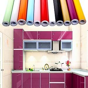 Carta adesiva 60 x 500 cm per mobili cucina adesivo for Parati da cucina
