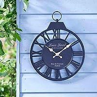 Neue Traditionelle Garten Terrasse Wanduhr mit Thermometer Viktorianischer Stil 20/cm