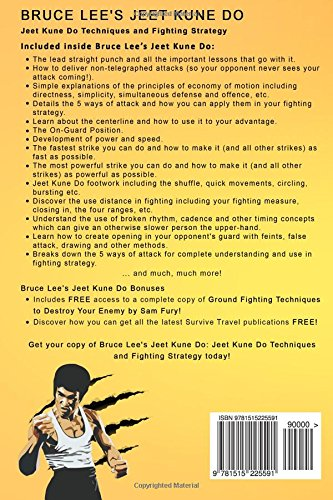 Bruce Lee's Jeet Kune Do: Jeet Kune Do Techniques and Fighting Strategy (Fight Training)