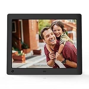 NIX Advance - Cornice digitale da 8 pollici per foto e video HD (720p) con sensore di movimento - X08E