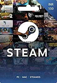 INR 150 Steam Wallet Code (Digital Code- Email Delivery within 2 hours)