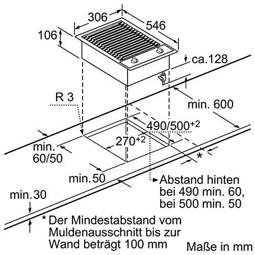 Neff NK 6430 N Kochfeld Elektro / edelstahl / 30,6 cm / Barbecue-Grill mit integrierten Temperaturregler / schwarz - 3