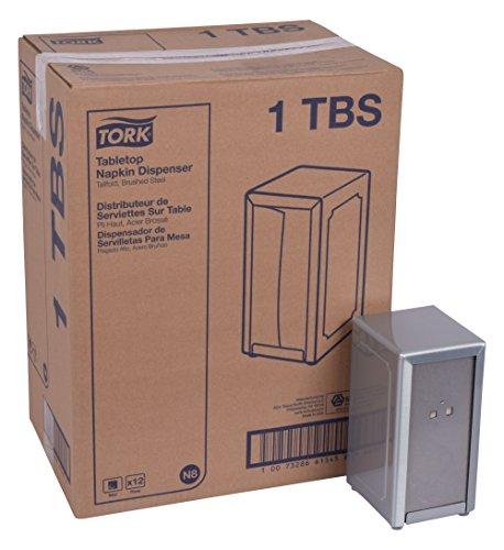 Tork 1TBS servilleta mesa dispensador, acero cepillado, acero cepillado Por Tork