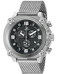 Joshua & Sons Reloj con movimiento cuarzo suizo Man JS58SSB 50.0 mm