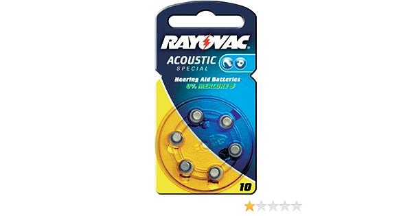 Varta Rayovac Acoustic Special 10 Hörgeräte Zellen Elektronik