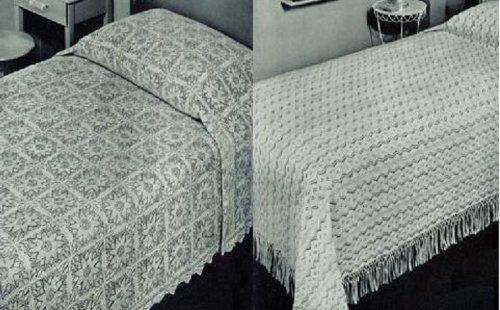 Dos punto reliquia Vintage colcha patrones por Unknown