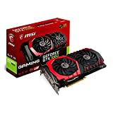MSI NVIDIA GTX 1060 Gaming 6G Grafikkarte (HDMI, DP, DL-DVI-D, 2 Slot Afterburner OC, VR Ready, 4K-optimiert)