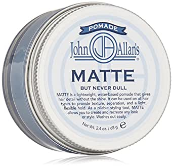 JOHN ALLAN'S Pommade Coiffante Matte, 68 ml