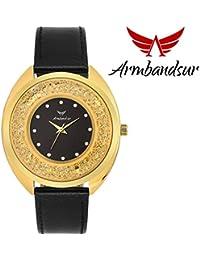Armbandsur swarovski edition black dial watch for women- abs0062ggb