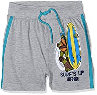 Nickelodeon Ninja Turtles Boys Shorts, Grey, 6 years