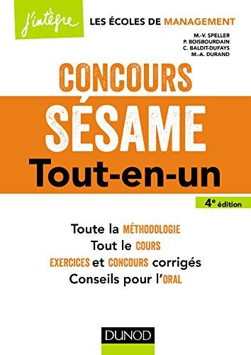 Concours Ssame - 4e d. - Tout-en-un