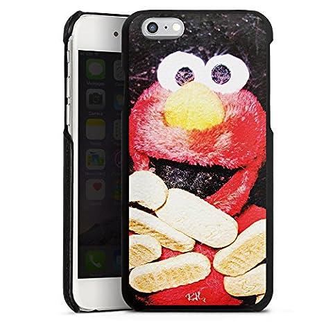 Apple iPhone 6s Lederhülle Leder Case Leder Handyhülle Oliver Rath Elmo Sesamstraße
