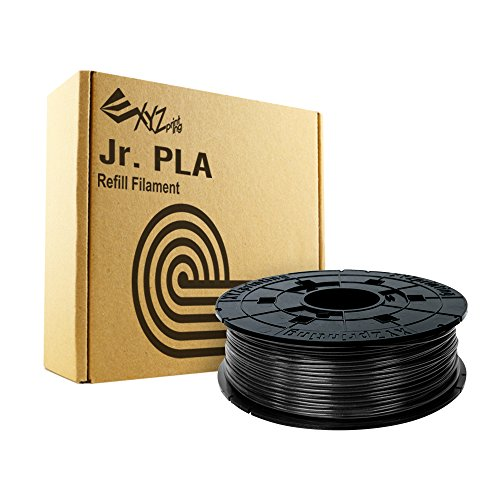 XYZprinting RFPLCXEU01B PLA Filament(NFC), 600 g, noir