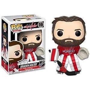 Funko Pop NHL Figura de vinilo Braden Holtby Home Jersey 21352