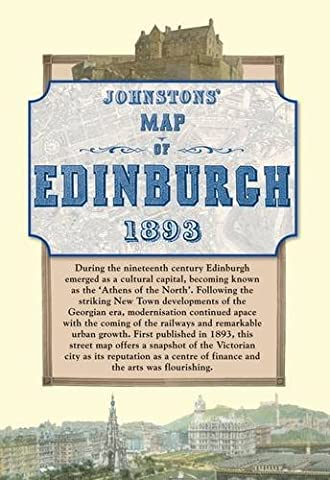 Map of Edinburgh, 1893 (Historical Map)