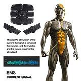 Elettrostimolatore Muscolare, LoiStu Electric Massager Bodybuilder Muscoli Braccio del corpo e piedini per uomini o donne