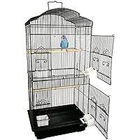 Heritage 6103H Beaumont Cage à oiseau 2 portes pour perruche et calopsitte 90x4636cm