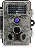 APEMAN Trail Camera 12MP 1080P HD Wildlife Camera with 130° Wide Angle Lens 120° Detection 42 Pcs 940nm Updated IR LEDs Night Version up to 20M/65FT Hunting Camera with IP66 Spray Water Protected Design