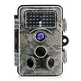 APEMAN Wildkamera 12MP 1080P HD Jagdkamera mit 130 ° Weitwinkelobjektiv 120 ° Erkennungwinkel 42 Stück 940nm aktualisierte IR LEDs Nachtsicht bis 20M  Jagdkamera mit IP66 Spritzwasser geschütztem Design