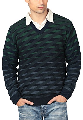 aarbee Men's Sweater HW90170_M /Charcoal, Medium