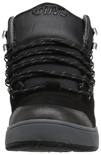 DVS Shoes Vanguard, Sneaker a Collo Alto Uomo Schwarz (Black Black Suede)