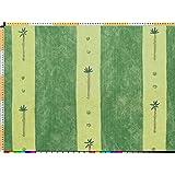 Tela de tapicería, tela de tapicería, tela de tapicería, tela, tela de la cortina, tela de algodón pesado moderado - línea moderna, Timba, verde - en una mirada de lino