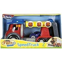 Chicco 00000390000000 Turbo Touch Speedtruck - Camión con luz y sonido para aprender la importancia de