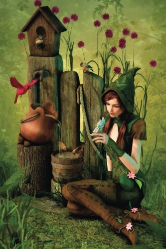 Well-Spring woodland Elf Notebook: 150 page Notebook Journal Diary: Volume 14 (Fairyland 150 Blank Notebooks)