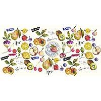 Vilber Gran Chef Mix Alfombra, Vinilo, Multicolor, 50x140x0.2cm