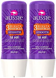 Aussie 3 Minute Miracle Smooth Conditioning Treatment, 8 oz, 2 pack