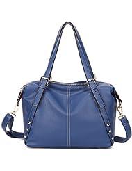 X&L Las señoras bolso moda casual suave bandolera diagonal , treasure blue