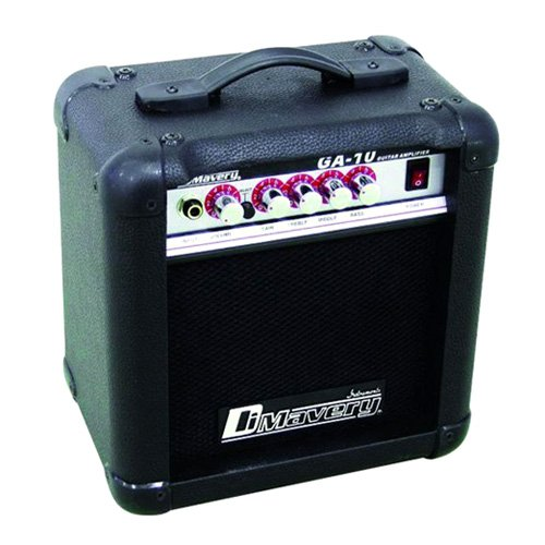 DIMAVERY GA-10 - Amplifier for electric guitar 10 W