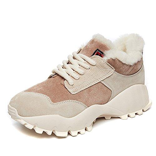 sexy Les chaussures de coton épaississent le fond épais d'éponge de gâteau épaississent les chaussures des femmes extérieures