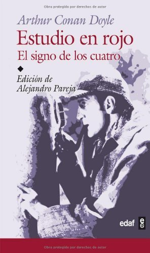 Estudio En Rojo-El Signo De Los Cuatro (Biblioteca Edaf Juvenil) por Arthur Conan