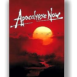 Apocalypse Now Película Cartel de la Película Estilo Retro Vintage Lienzo Arte de la Pared Imprimir Foto Grande Pequeña