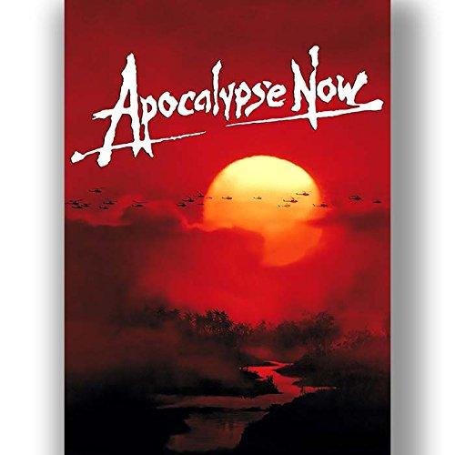 Box Prints Apocalypse Now Film Vintage Retro-Stil Poster Kunstdruck schwarz weiß gerahmte Bild klein groß