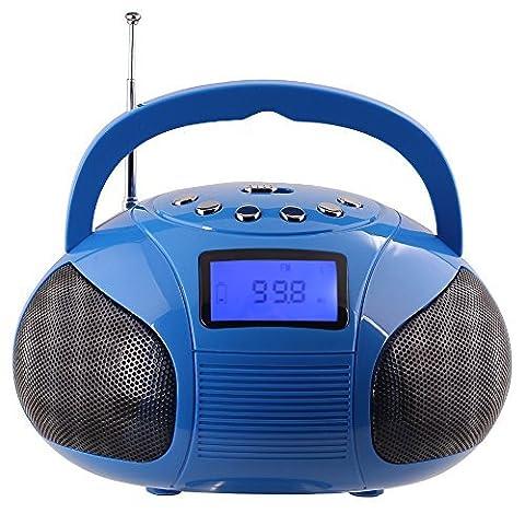 August SE20L – Radio FM MP3 y Alarma Despertador –