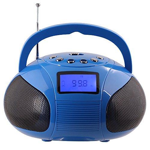 August SE20 – Radio FM con Alarma Despertador y Altavoz Bluetooth Inalámbrico