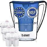 BWT Premium brocca filtrante con 3filtri (60Day) inclusa, premiato austriaco di qualità, Technology for superior filtration & gusti Scarpette a strappo Voltaic 3 Velcro Fade - Bambini