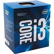 Intel Core i3-7300 - Procesador con tecnología Kaby Lake (Socket LGA1151, Frecuencia 4 GHz, 2 Núcleos, 4 Subprocesos, Intel HD Graphics 630)
