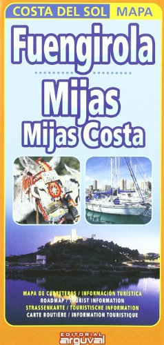 Mapa Fuengirola, Mijas, Mijas Costa por Arguval