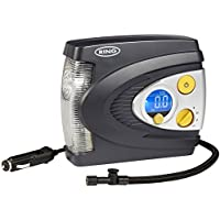 Ring RAC635 Preset Digital Tyre Inflator, 12V Air Compressor Tyre Pump, 3 Min Tyre Inflation, LED Light, Carry Case, Valve Adaptors **AUTO EXPRESS DOUBLE AWARD WINNER**