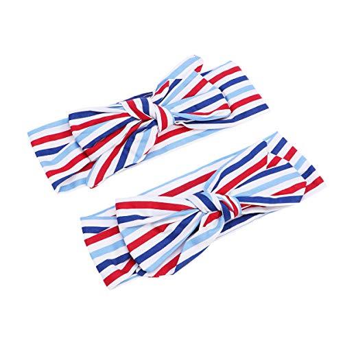 Stirnband elastische Bowknot Stirnband Kinder Haarschmuck für Baby Shower Birthday Party Zubehör ()