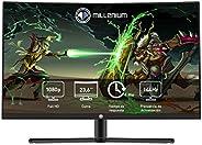 "Millenium MD24PRO - Monitor Gaming para e- Sport de 23,6"" FHD 144hz Curvo con 4ms (1920 x 1080p, VA, 16:9"