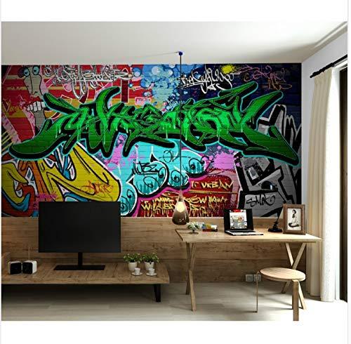 D Foto Wandbild Wandaufkleber Mode Graffiti Entfernbare Tapeten Selbstklebende Vinyl Kunst Wohnkultur 125X80 Cm