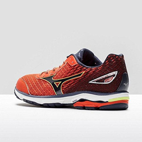 Mizuno Wave Rider, tour de formation homme Orange/Bleu