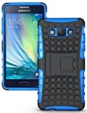 Gioiabazar Bumper Case Composite Hard Dual Armor TPU with Stand for Samsung Galaxy On5 Blue