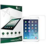 #6: DMG 2.5D Tempered Glass Screen Protector for New Apple iPad 9.7 2018 Edition (No Fingerprints Anti-Scratch Oil Coated Washable)